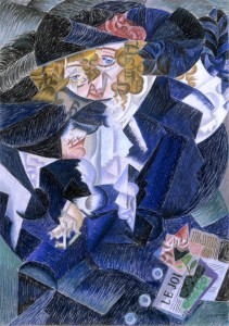 Gino Severini Portret madam MS