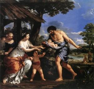 Pietro Berrettini Romulus i Remus