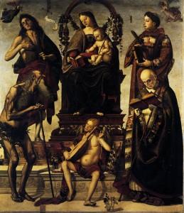 Luca Signorelli - Łopata Św. Onufrio źródło: Wikipedia